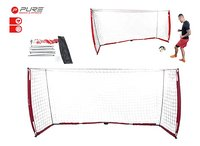 Pure2Improve opvouwbaar voetbaldoel Pro 3,66 m-Afbeelding 1