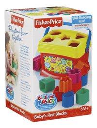 Fisher-Price Vormsorteerder Baby's eerste blokken-Vooraanzicht