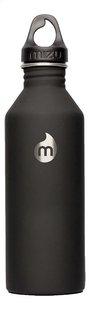 Mizu drinkfles Black 800 ml