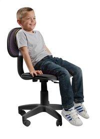 Chaise de bureau pour enfants Doggy noir-Image 1