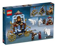 LEGO Harry Potter 75958 De koets van Beauxbatons: aankomst bij Zweinstein-Achteraanzicht