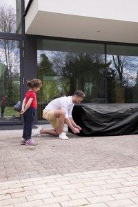 Outdoor Covers beschermhoes voor loungeset L 215 x B 215 x H 70 cm Premium polypropyleen-Afbeelding 1