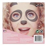 Who's That Girl Selfie Masks - 3 stuks-Achteraanzicht