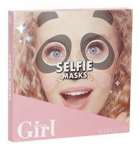 Who's That Girl Selfie Masks - 3 stuks-Linkerzijde