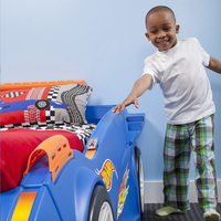 Bed Hot Wheels Race Car-Afbeelding 3