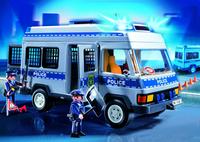 PLAYMOBIL Exclusive 4023 Fourgon équipé et policiers-Image 1