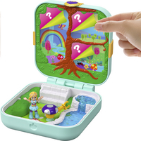 Polly Pocket speelset Hidden Hideouts Flutteriffic Forest-Afbeelding 3