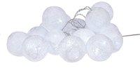 Ledverlichting wollen ballen L 3 m koud wit