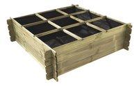 Forest-Style carré potager Basil 140 x 140-Avant