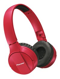 Pioneer casque Bluetooth SE-MJ553BT rouge