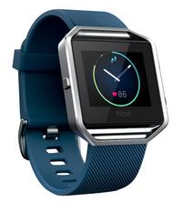 Fitbit capteur d'activité Blaze HR large bleu