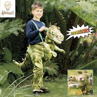Verkleedpak Ride on Dino één maat-Afbeelding 2