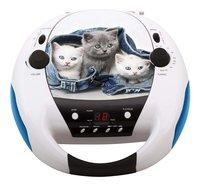 bigben draagbare radio/cd-speler CD52 Katten 2-Vooraanzicht