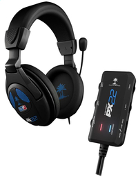 Turtle Beach PS4/PS3 headset Ear Force PX22 zwart-Vooraanzicht