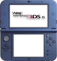 New Nintendo 3DS XL console Metallic Blue-Détail de l'article