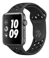 Apple Watch Nike Series 3 38 mm Gris sidéral/noir-Côté droit