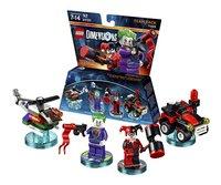 LEGO Dimensions figurine Team Pack DC Comics 71229 Joker et Harley Quinn
