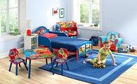 Table avec 2 chaises pour enfants Pat' Patrouille-Image 1