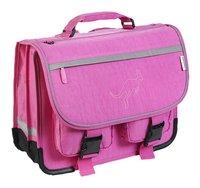 Kangourou boekentas roze 39 cm-Linkerzijde