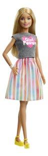 Barbie poupée mannequin  Careers Surprise - Girl Power-Côté gauche