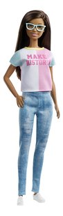 Barbie mannequinpop Careers Surprise - Make History-Linkerzijde