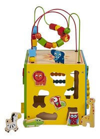 DreamLand cube d'activités en bois avec 7 animaux-Détail de l'article