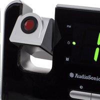 Audiosonic radio-réveil CL-1492 noir-Détail de l'article
