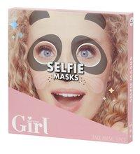 Who's That Girl Selfie Masks - 3 stuks-Rechterzijde