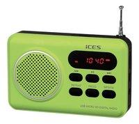 iCES radio IMPR-112 groen
