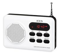 iCES radio IMPR-112 blanc