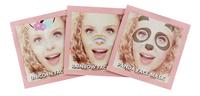 Who's That Girl Selfie Masks - 3 stuks-commercieel beeld