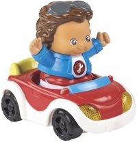 VTech Vrolijke Vriendjes Cabrio rood met Jasper-Vooraanzicht
