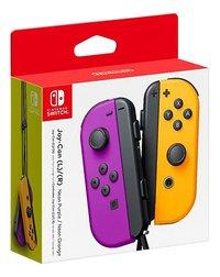 Nintendo Switch Joy-Con pair mauve/orange-Côté gauche