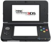 New Nintendo 3DS console noir
