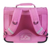 Kangourou boekentas roze 39 cm-Achteraanzicht