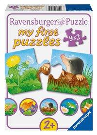 Ravensburger puzzelbox Dieren in de tuin