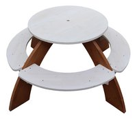 AXI table de pique-nique pour enfants Orion avec parasol-Vue du haut