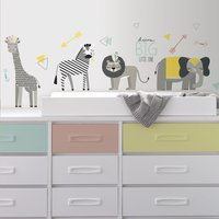 RoomMates Muursticker Animals