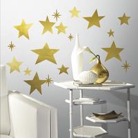 RoomMates Muursticker Golden Stars