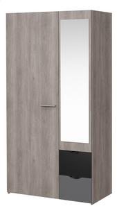 Chambre 3 éléments Tempo lit + bureau + armoire 2 portes-Détail de l'article