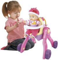 VTech 3-in-1 poppenwagen Little Love-Afbeelding 1