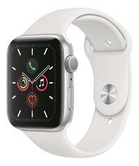 Apple Watch Series 5 40 mm aluminium argent/blanc-Côté droit