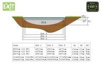 EXIT inbouwtrampoline Supreme Ground L 4,27 x B 2,44 m-Artikeldetail