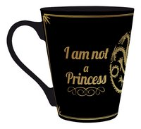Mok Game of Thrones I am not a Princess-Achteraanzicht
