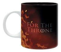 Mok Game of Thrones For the Throne-Achteraanzicht