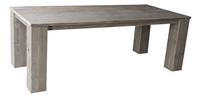 Dutchwood tuintafel bruin 220 x 100 cm-Vooraanzicht