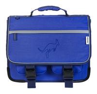 Kangourou cartable bleu 39 cm-Avant