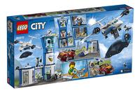 LEGO City 60210 Luchtpolitie luchtmachtbasis-Achteraanzicht