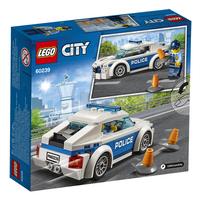 LEGO City 60239 Politiepatrouille auto-Achteraanzicht