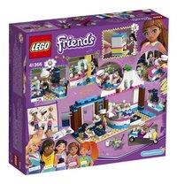 LEGO Friends 41366 Olivia's Cupcake Café-Achteraanzicht